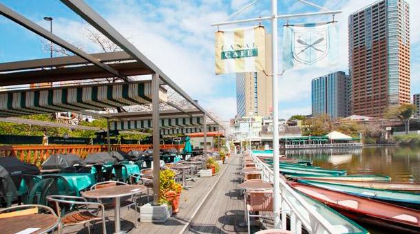 飯田橋でBBQができるCANAL CAFE