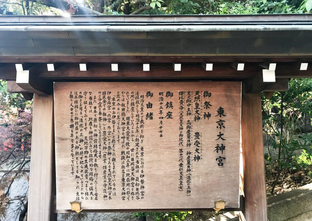 東京大神宮の説明