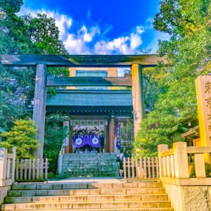 東京大神宮正面入り口