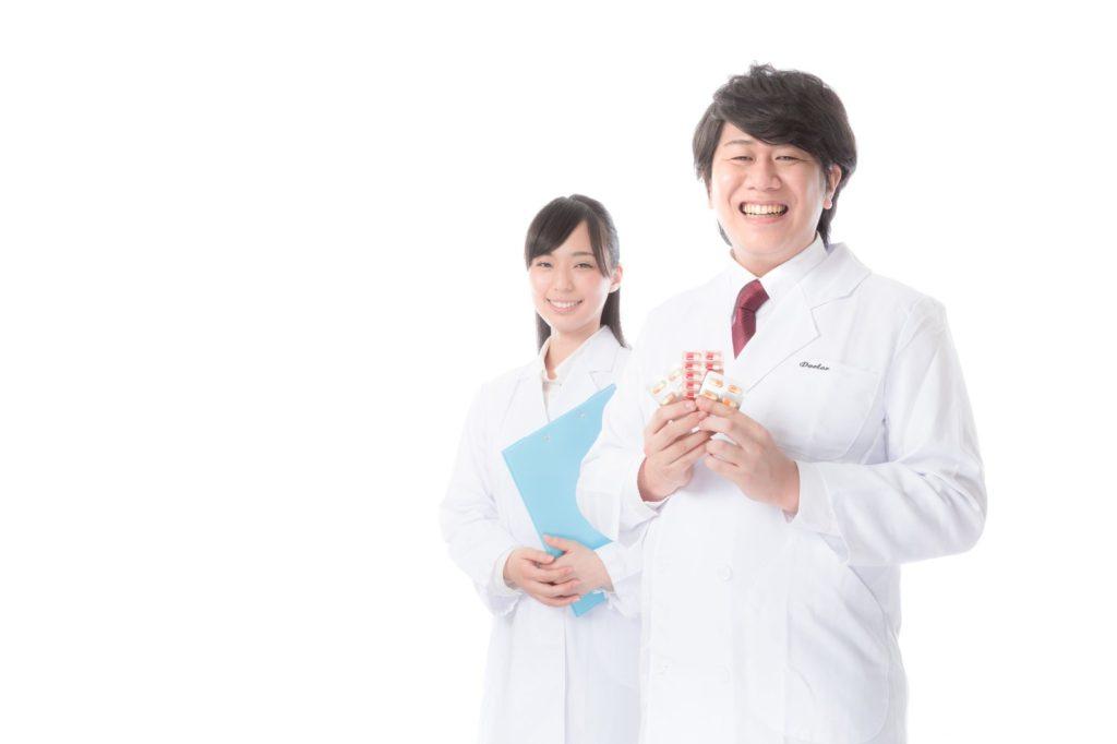 脱毛クリニックの医師と看護師