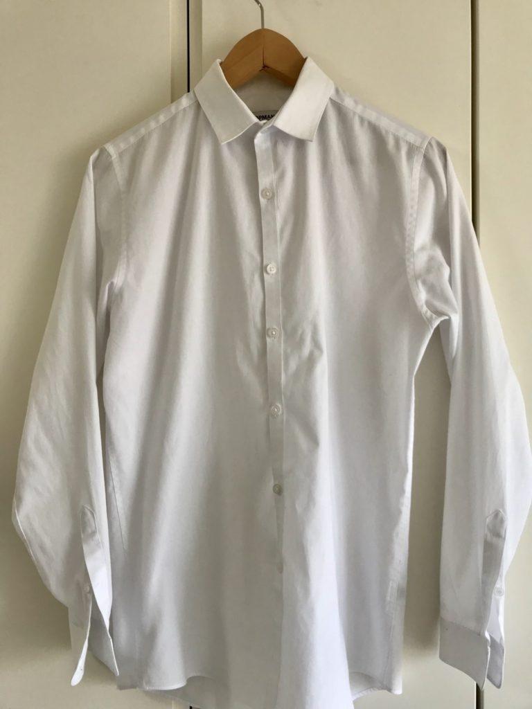 NA-VX8800で洗濯したシャツ